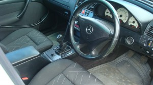 Mercedes C200 Estate & Reliant Scimitar GTE 24.09.14 010