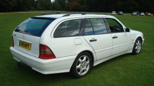 Mercedes C200 Estate & Reliant Scimitar GTE 24.09.14 017