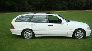 Mercedes C200 Estate & Reliant Scimitar GTE 24.09.14 021