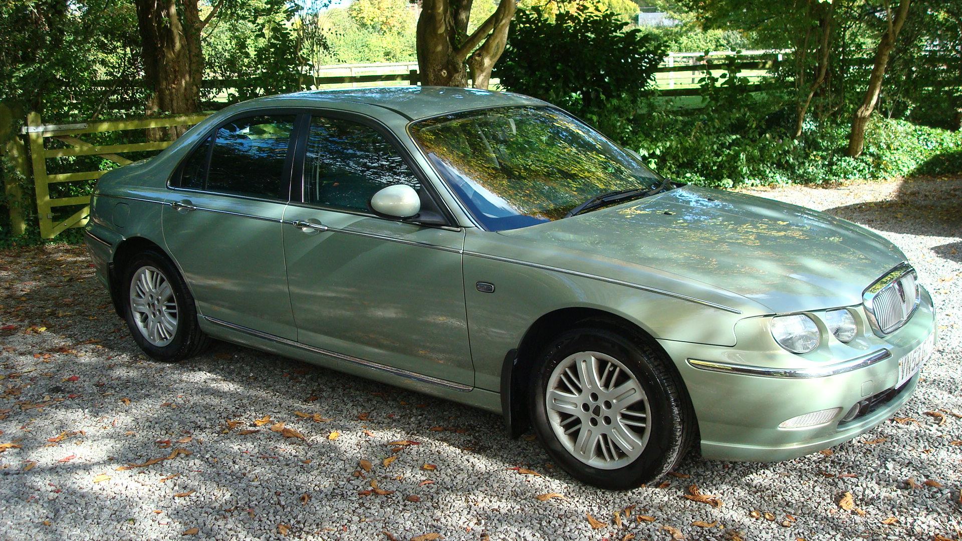Rover 75 CDT Club SE 2003, 50k Miles / Personal Line Interior ...