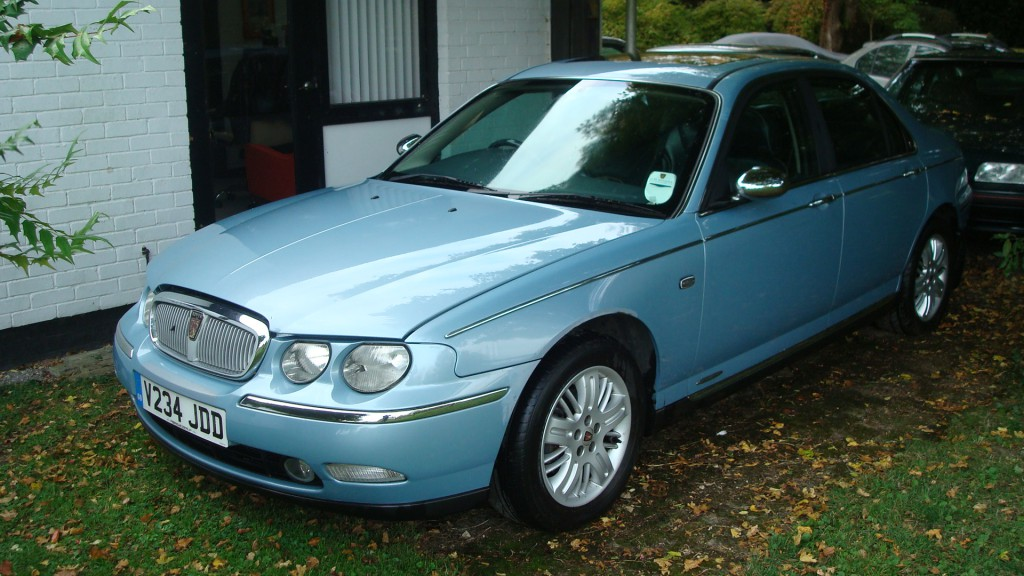 rover 75 connoisseur 2 5 v6 auto 1999 personal line leather interior country classics. Black Bedroom Furniture Sets. Home Design Ideas