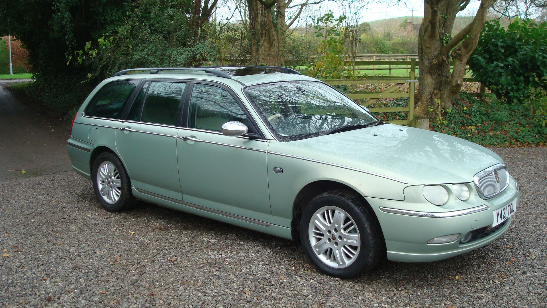 rover 75 2 5 v6 connoisseur se tourer 2001 y reg country classics country classics. Black Bedroom Furniture Sets. Home Design Ideas