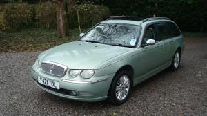 28.11.15 Rover 75 Club & Estate 023
