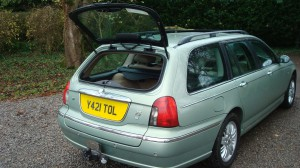 28.11.15 Rover 75 Club & Estate 037