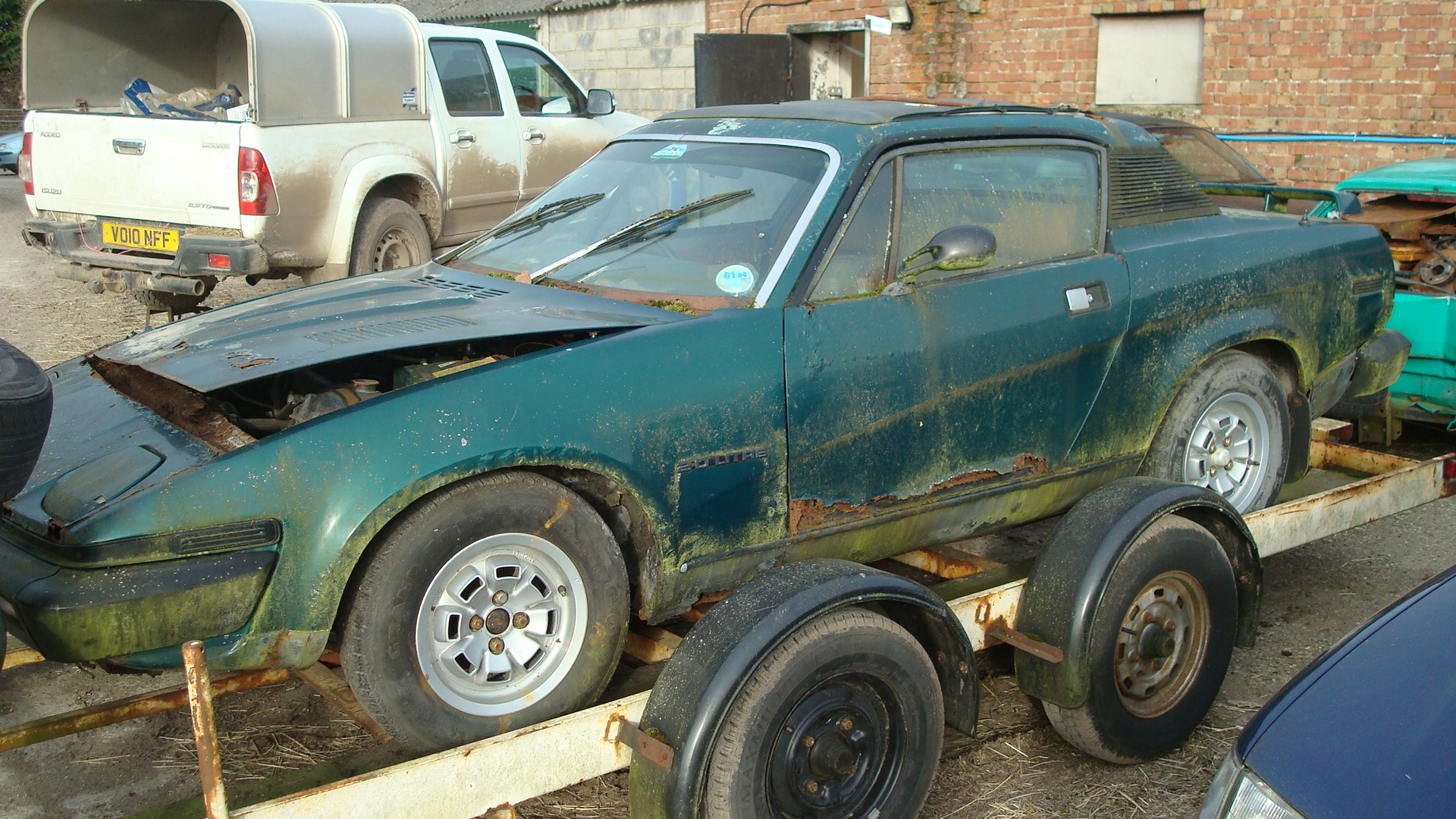 Triumph Tr7 Fhc Spares Car Fitted With 16v Sprint Engine