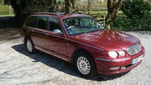 05.04.16 Rover 75 Connie SE Tourer 001