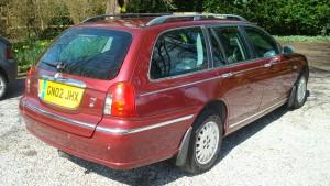 05.04.16 Rover 75 Connie SE Tourer 015
