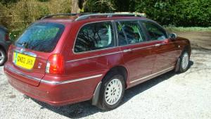05.04.16 Rover 75 Connie SE Tourer 016