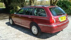 05.04.16 Rover 75 Connie SE Tourer 017