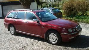 05.04.16 Rover 75 Connie SE Tourer 020