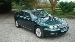 12.03.17 Rover 75 Club SE & MG ZT 001
