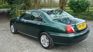 12.03.17 Rover 75 Club SE & MG ZT 018