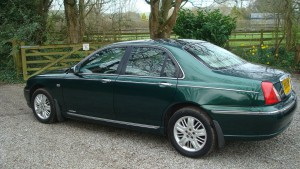 12.03.17 Rover 75 Club SE & MG ZT 019