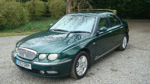 12.03.17 Rover 75 Club SE & MG ZT 023