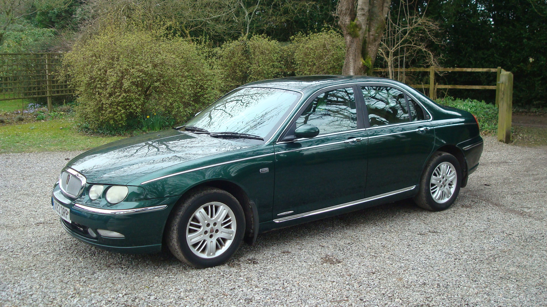 rover 75 2 0 v6 club se saloon country classics. Black Bedroom Furniture Sets. Home Design Ideas