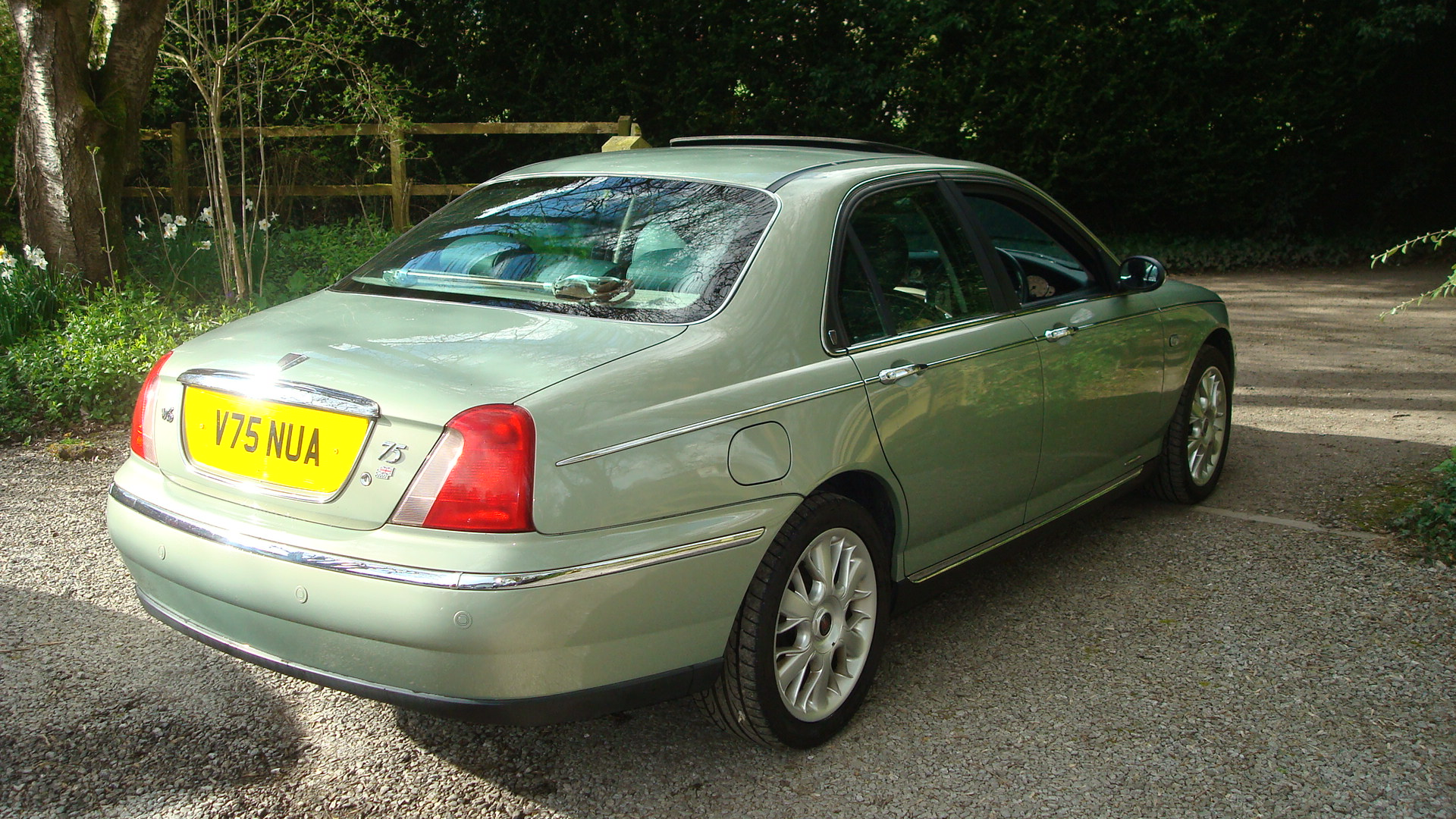 rover 75 2 5 v6 connoisseur exceptional low mileage car. Black Bedroom Furniture Sets. Home Design Ideas
