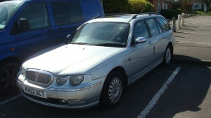 25.03.17 Rover 75 Connie Tourer 004