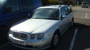 25.03.17 Rover 75 Connie Tourer 005