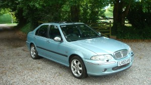 14.08.18 Rover 45 Connie -MG ZS 002