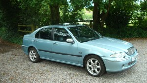 14.08.18 Rover 45 Connie -MG ZS 003