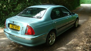 14.08.18 Rover 45 Connie -MG ZS 016