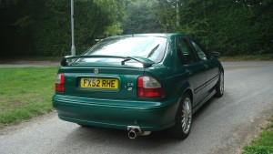 14.08.18 Rover 45 Connie -MG ZS 042